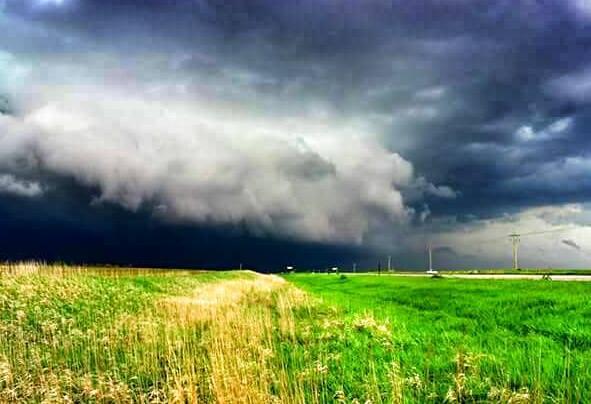 Near Fairmont Nebraska on 5/11/14.