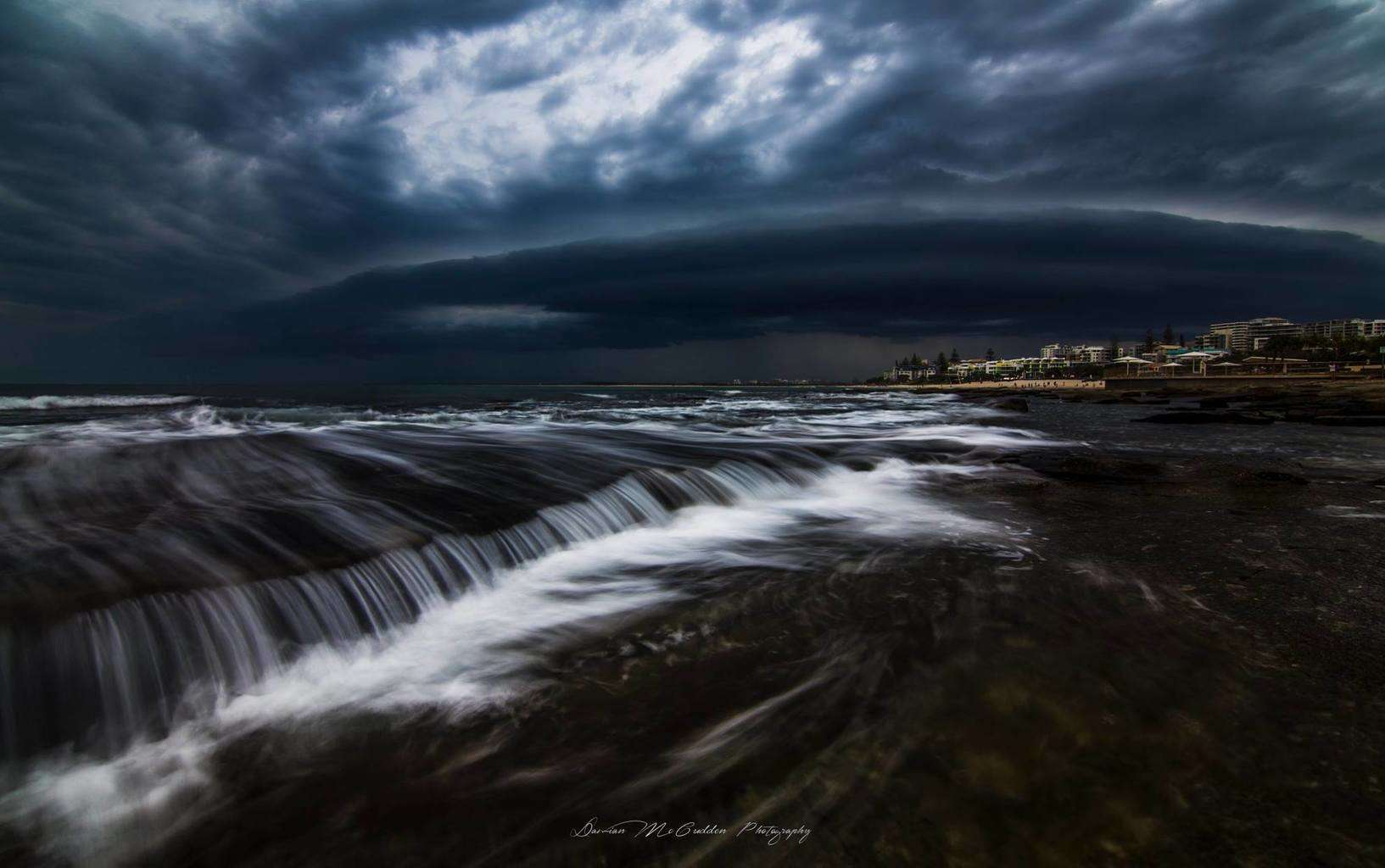 Last chase of 2014, I'm a landscape photographer as you can tell i like to have a good composition with my storm images.  This was taken in December last year at Kings Beach, Australia.  Enjoy, Thanks for looking!