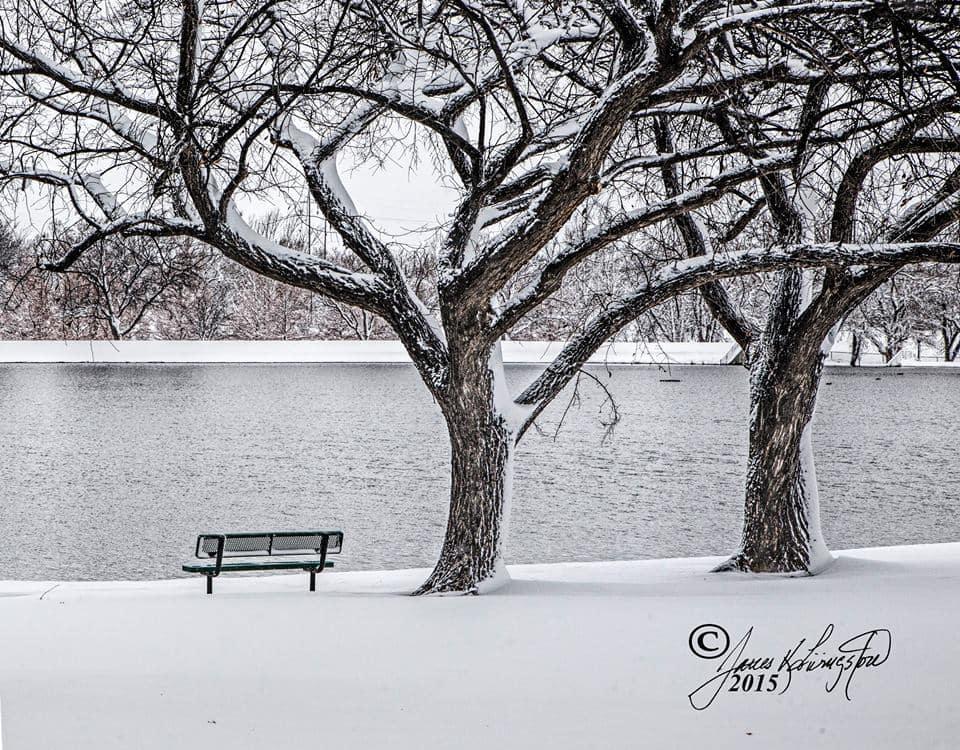 12 inches of snow in Amarillo!