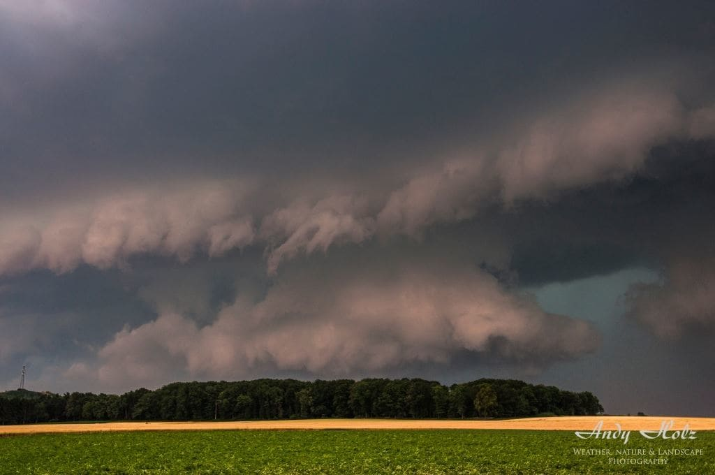 """The beast"", Shelfcloud, Wassenberg/Germany (July 14th 2010)"