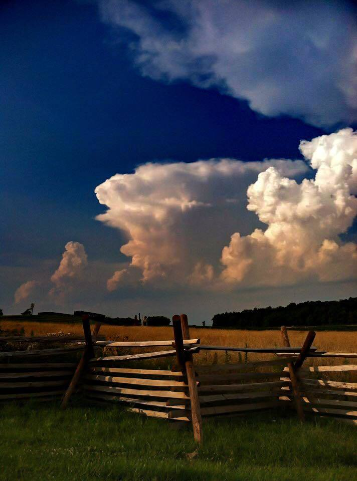 Taken a few years ago in Gettysburg, Pennsylvania with an iPhone 4.