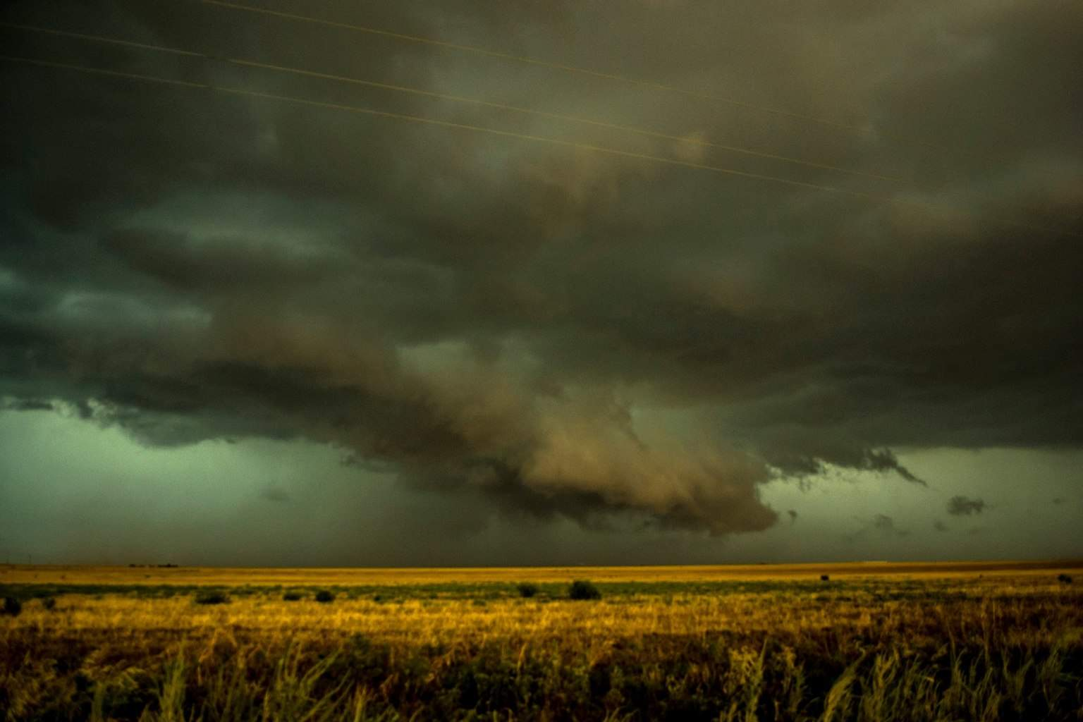 Wall Cloud Duke OK.. SW OK has to be one of my favorite places to chase in the world. Its just one of those areas that can so often be magical.