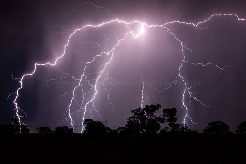Big powerful bolt and close too! Taken west of Melbourne, Australia last week.