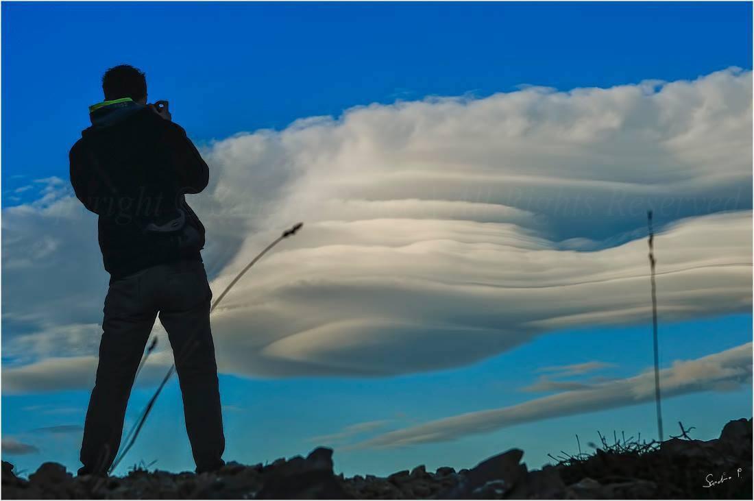 Cloud chasing time... 1.1.2014. M.Lošinj / Croatia