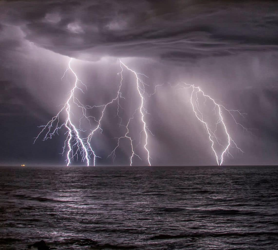 Good to see some storm action around Perth, Western Australia the other night.