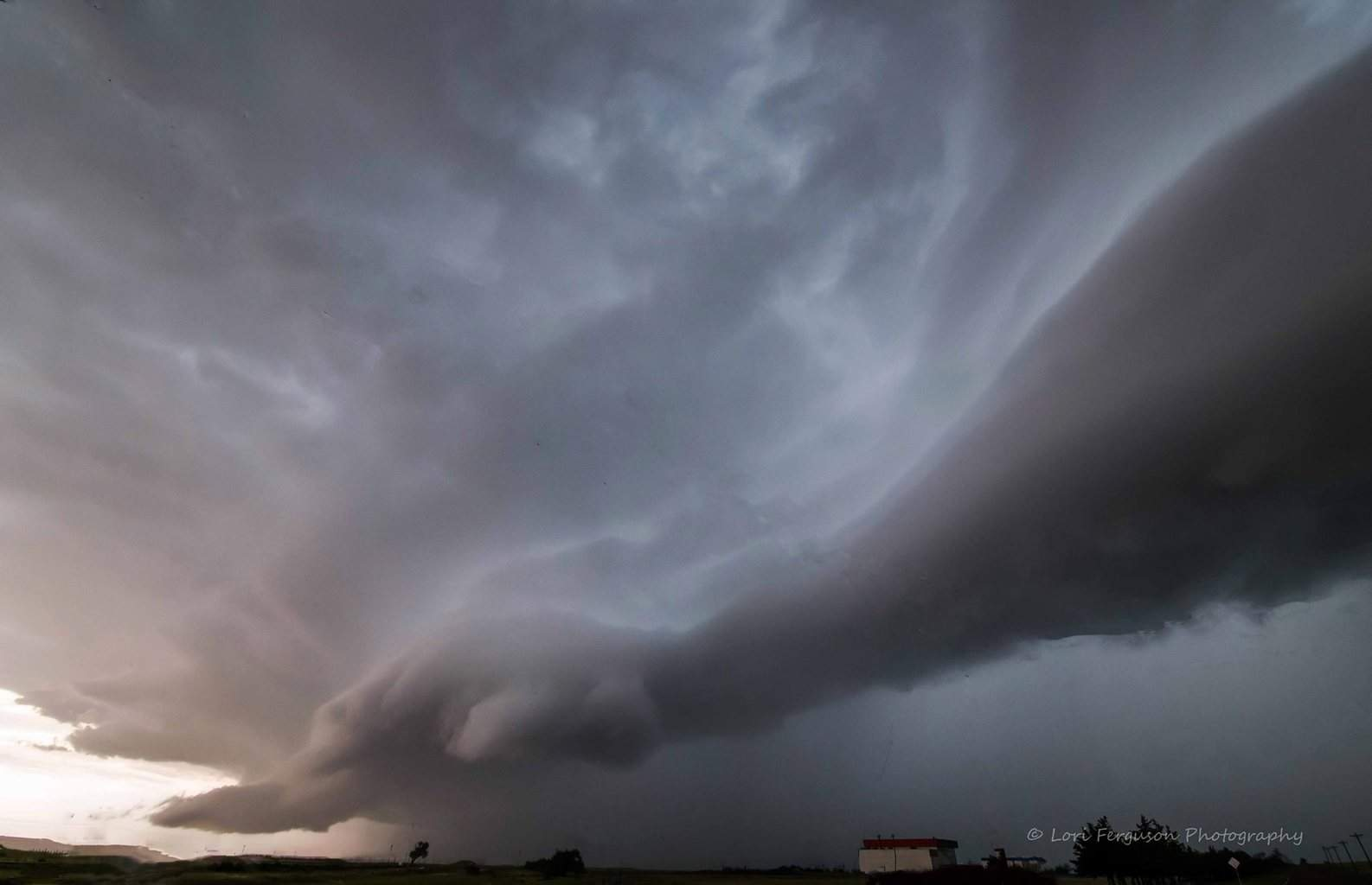 Giant hand from above! Taken on May 30, 2014 somewhere near Byers, CO.
