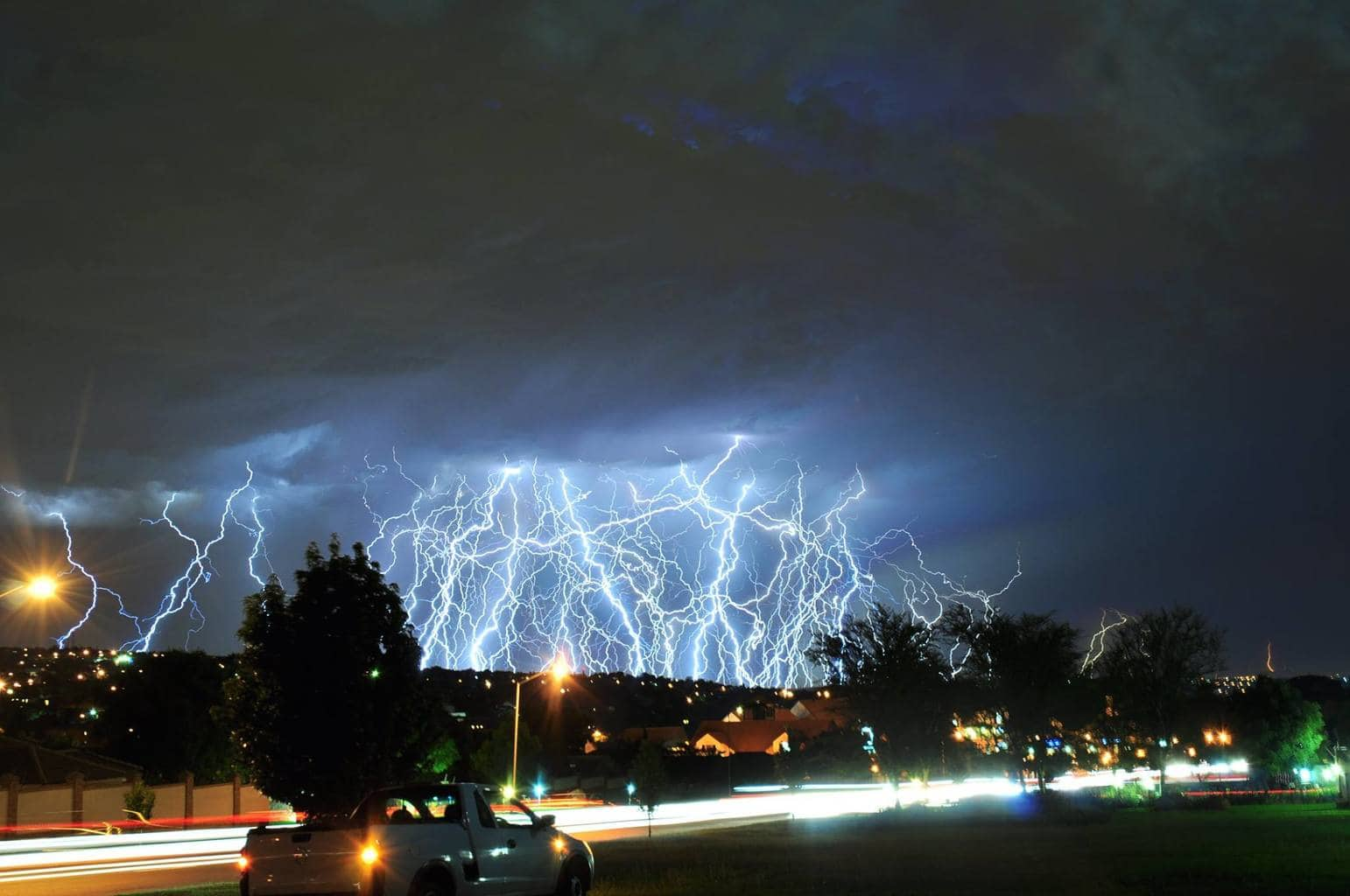 This is one of a series of composites I put together of that epic lightning storm in Pretoria, South Africa on the 4 January 2014. I've posted a few of them so I'm not sure if I've posted this one already. Anyway, that was one hell of an epic light show I'll never forget. Likes and comments much appreciated.