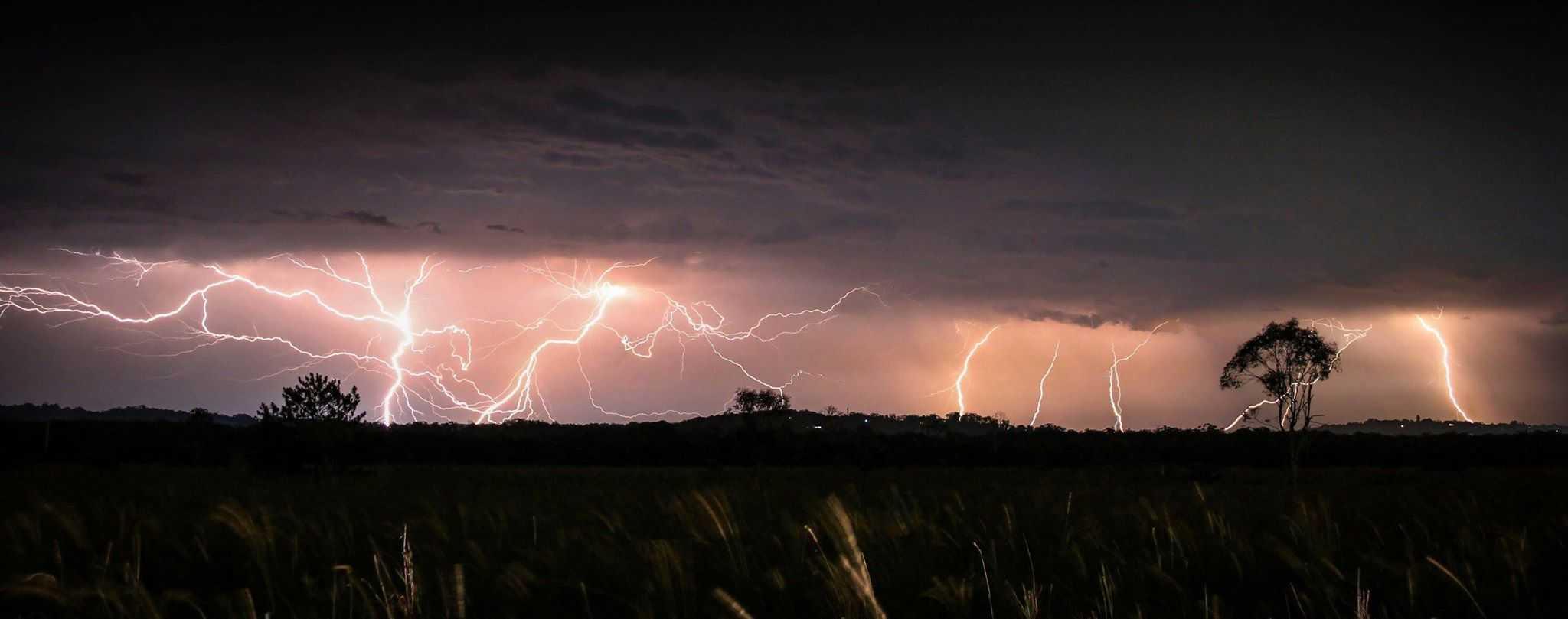 Storm from January 2014 taken from Meridan Plains Australia.
