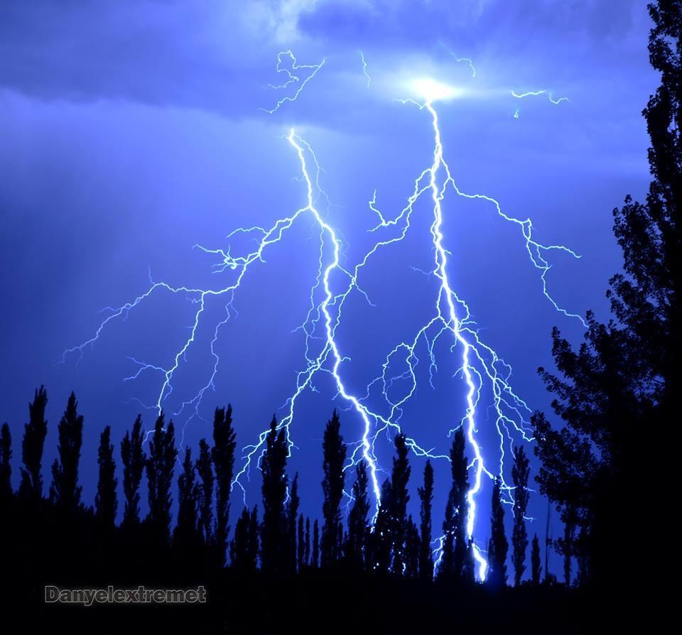 Electrical activity in Bowen, Mendoza, Argentina 18-01- 15