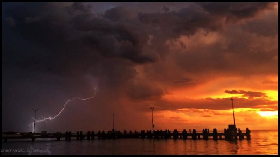 This storm passed by just as the sun was going down which mad for a sight I will never forget in Western Australia