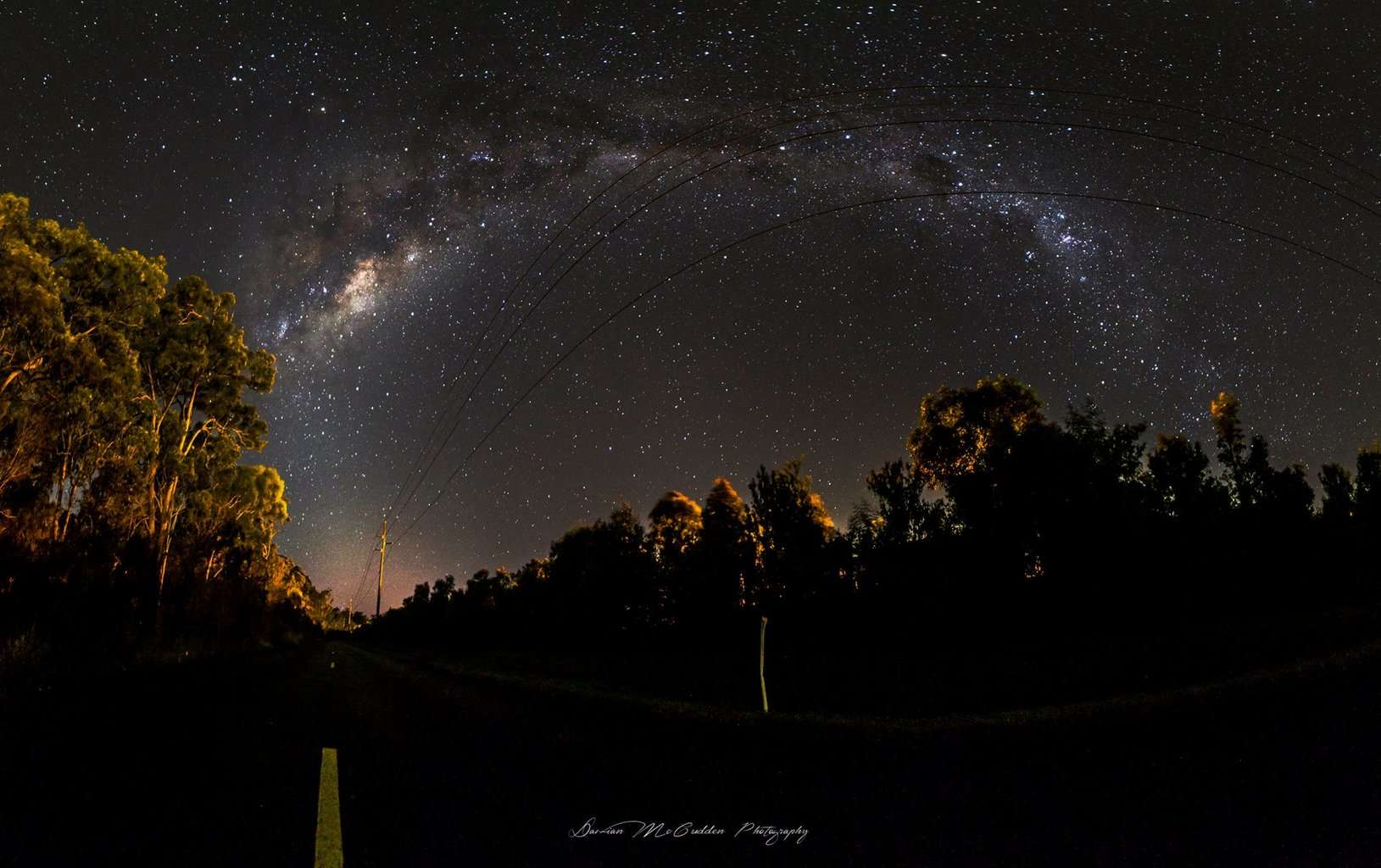 Hey guys, I was out shooting the night sky the other morning and shot this Milky Way pano
