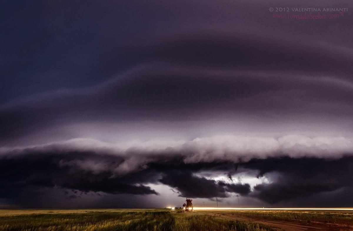 Shelf cloud near Vega, Texas. May 21st 2012.