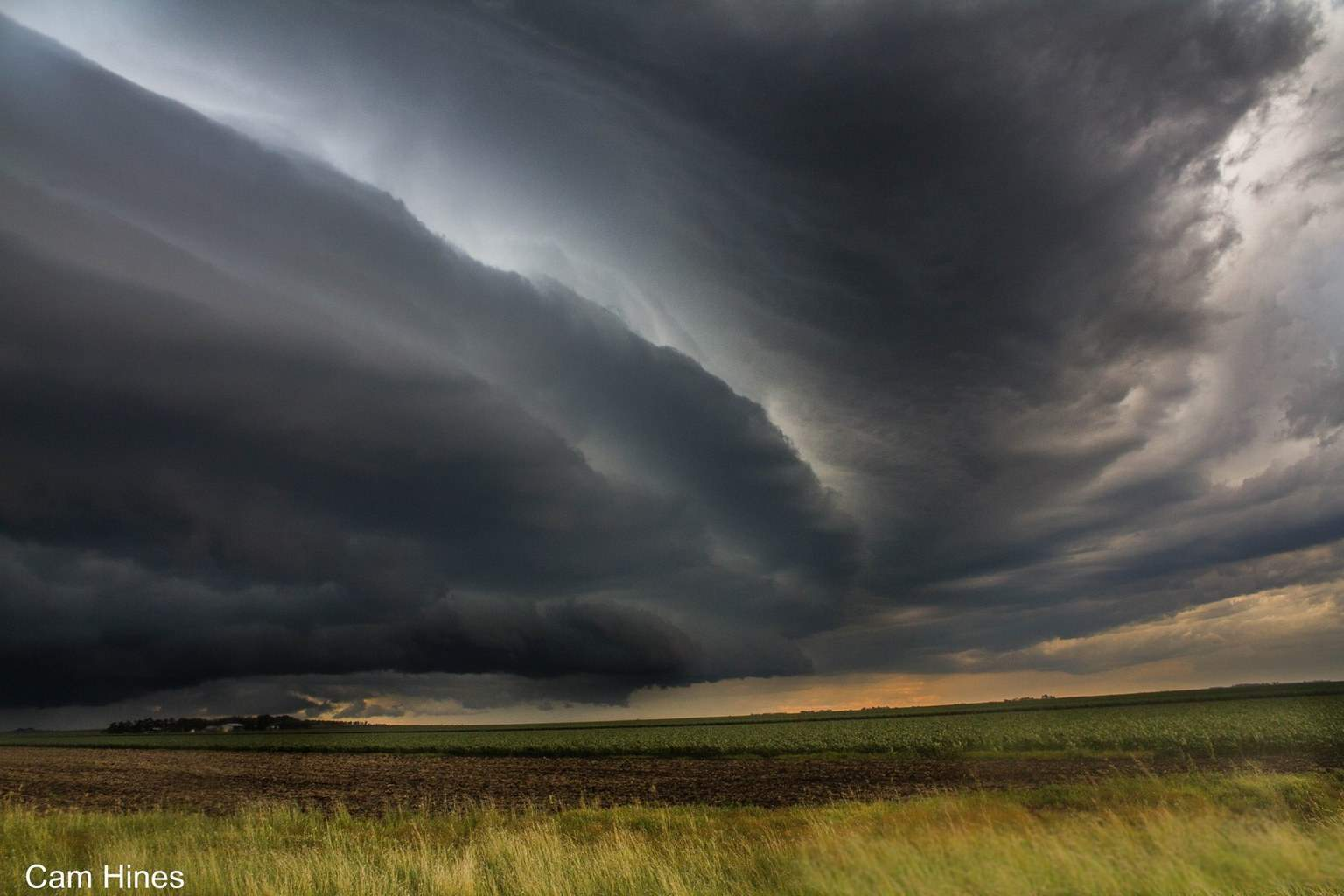 HP supercell on Australia Day, January 26 near Jondaryan QLD. This was just after it had just given the small town of Pittsworth a bit of a touch up..