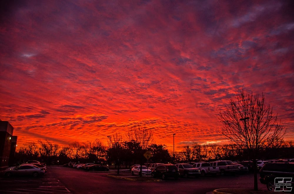 What an incredible sunrise this morning here in Norman, OK. One of the best I've seen in a long time. I guess waking up early has its advantages on occasion.