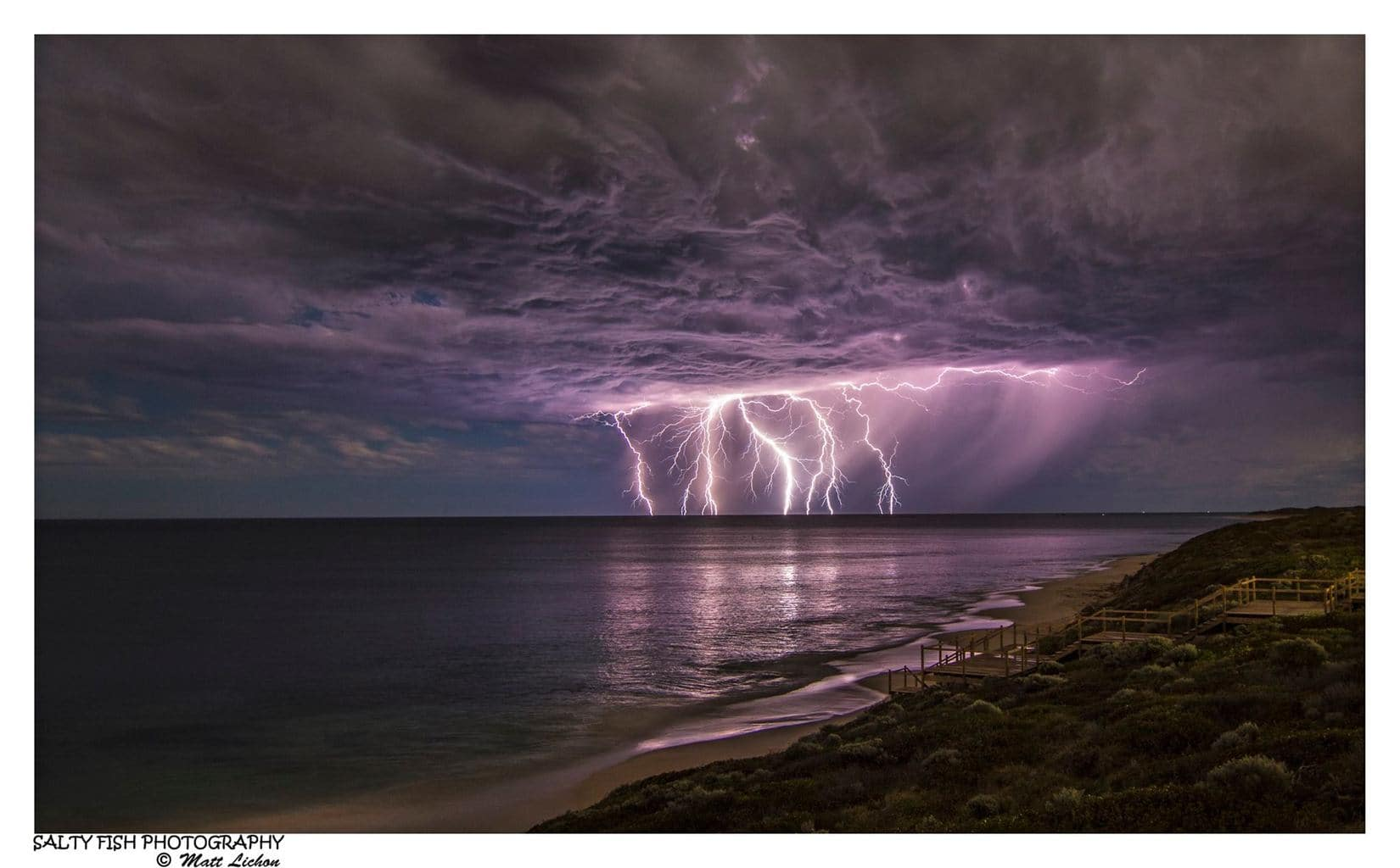 Here is my favorite single exposure from recent Perth storms! ISO 100, f8, 30 seconds, at 16mm.