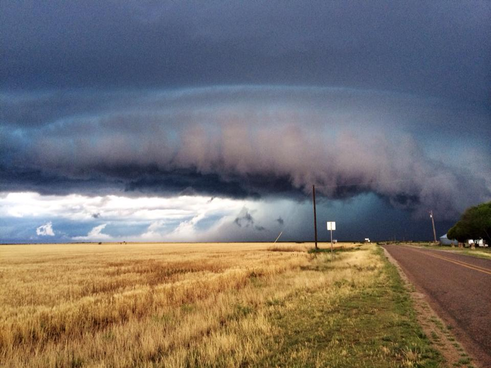 I phone pic last spring south west of Vernon Texas really pretty severe warned storm, hope you enjoy