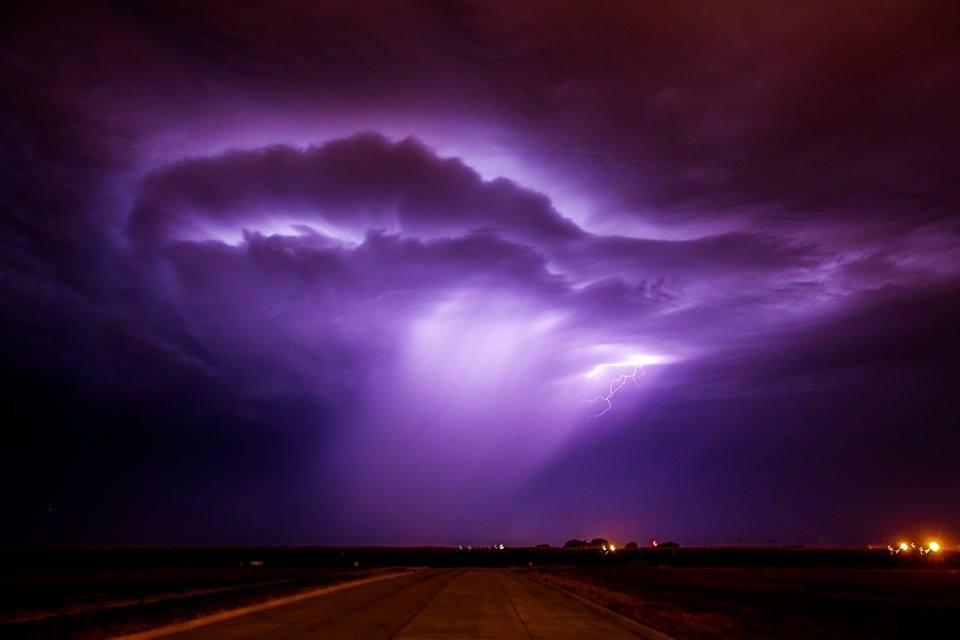 June 2013, Kearney Nebraska Non severe storm but the cloud based lightning was phenomenal!