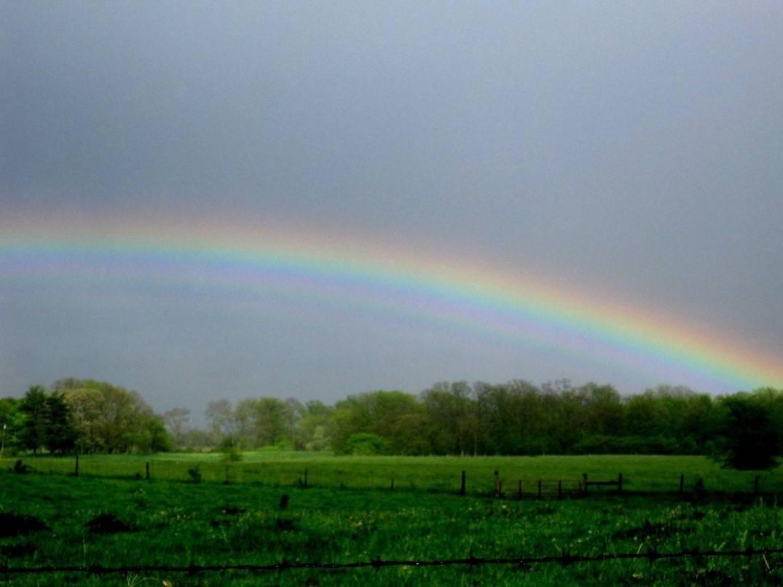 Warren County, IN rainbow.