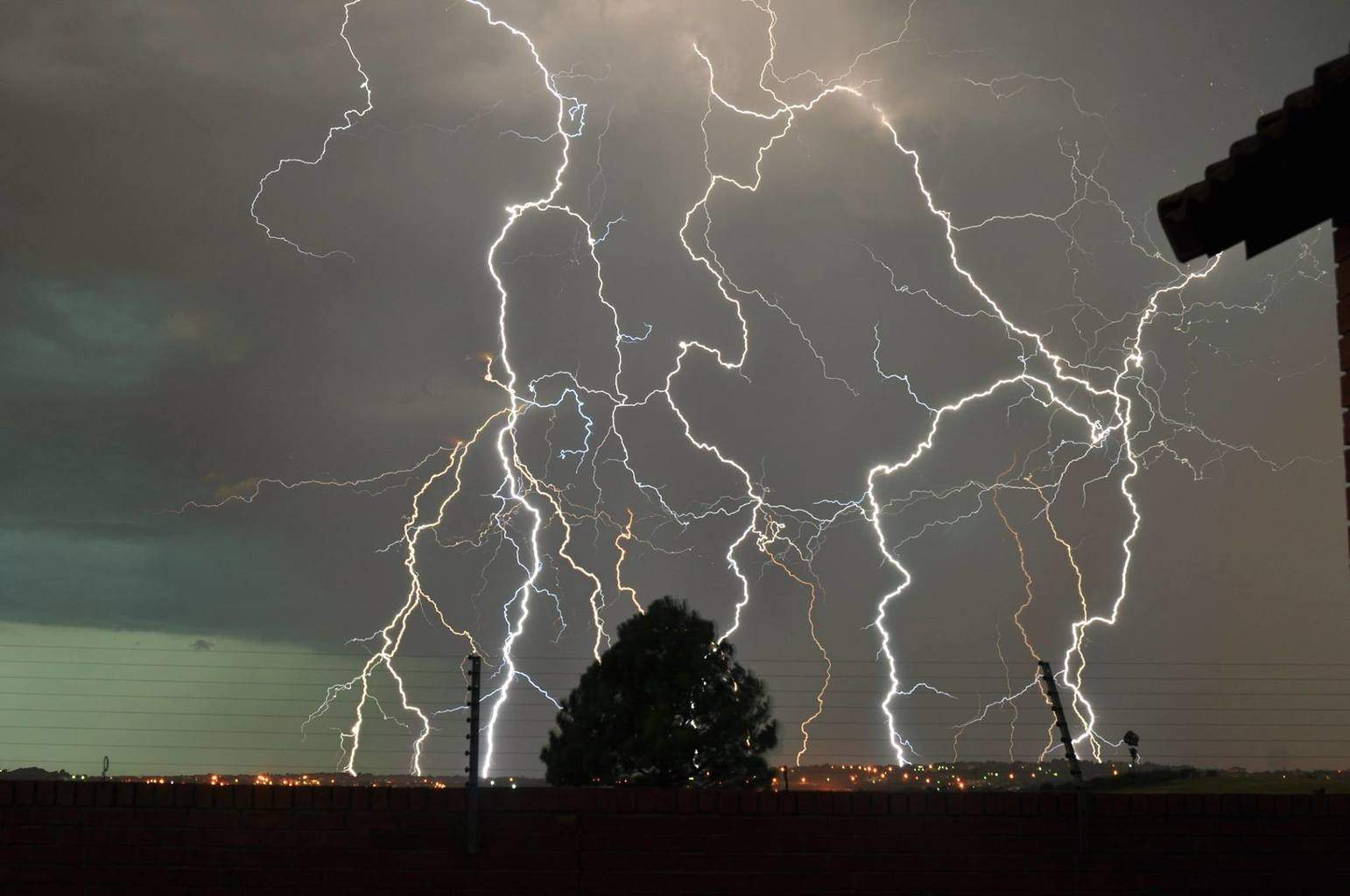 Just had the most amazing light show in Pretoria, South Africa this evening.