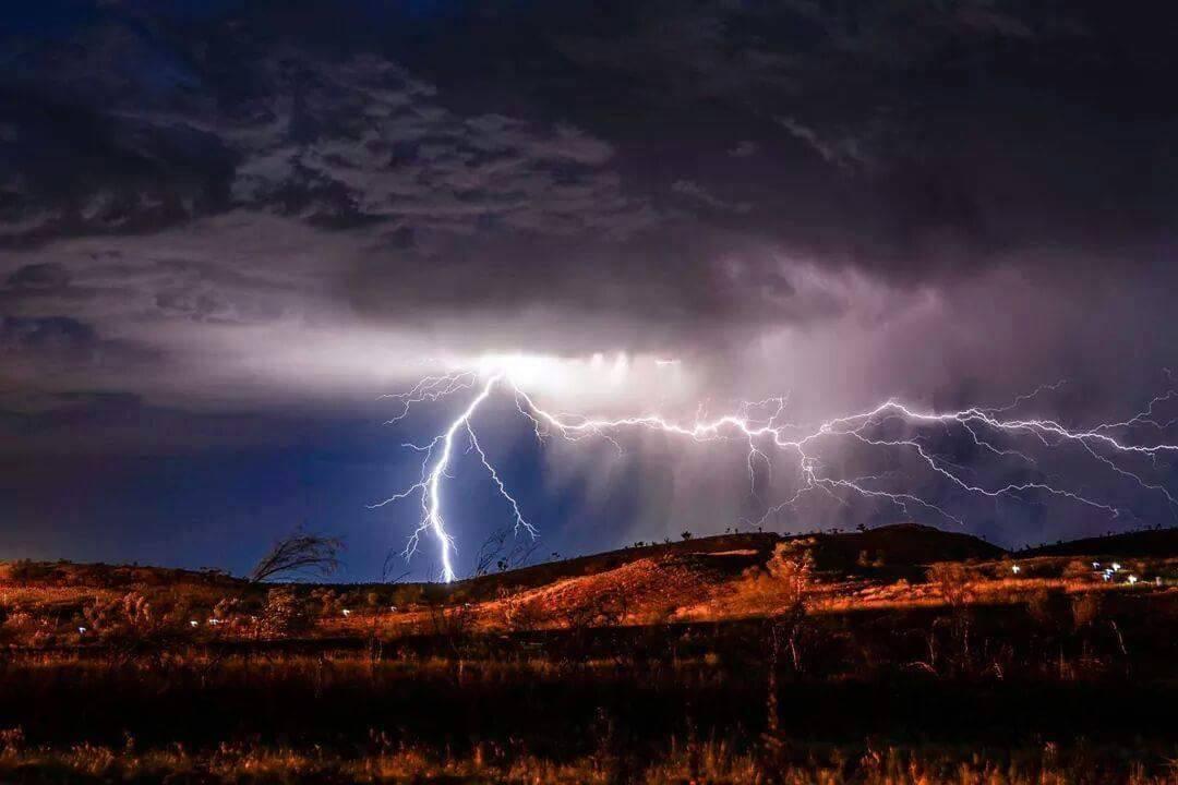My first ever lightning photo in December, in the Pilbara of Western Australia