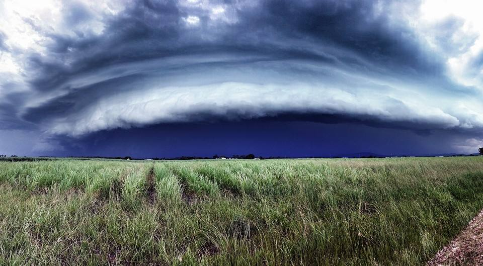 Storms were not predicted yesterday afternoon, but felt it was necessary to head out just in case and it paid off for us. This was taken at Jacobs Well, Queensland Australia. Great chase yesterday and some quick thinking.