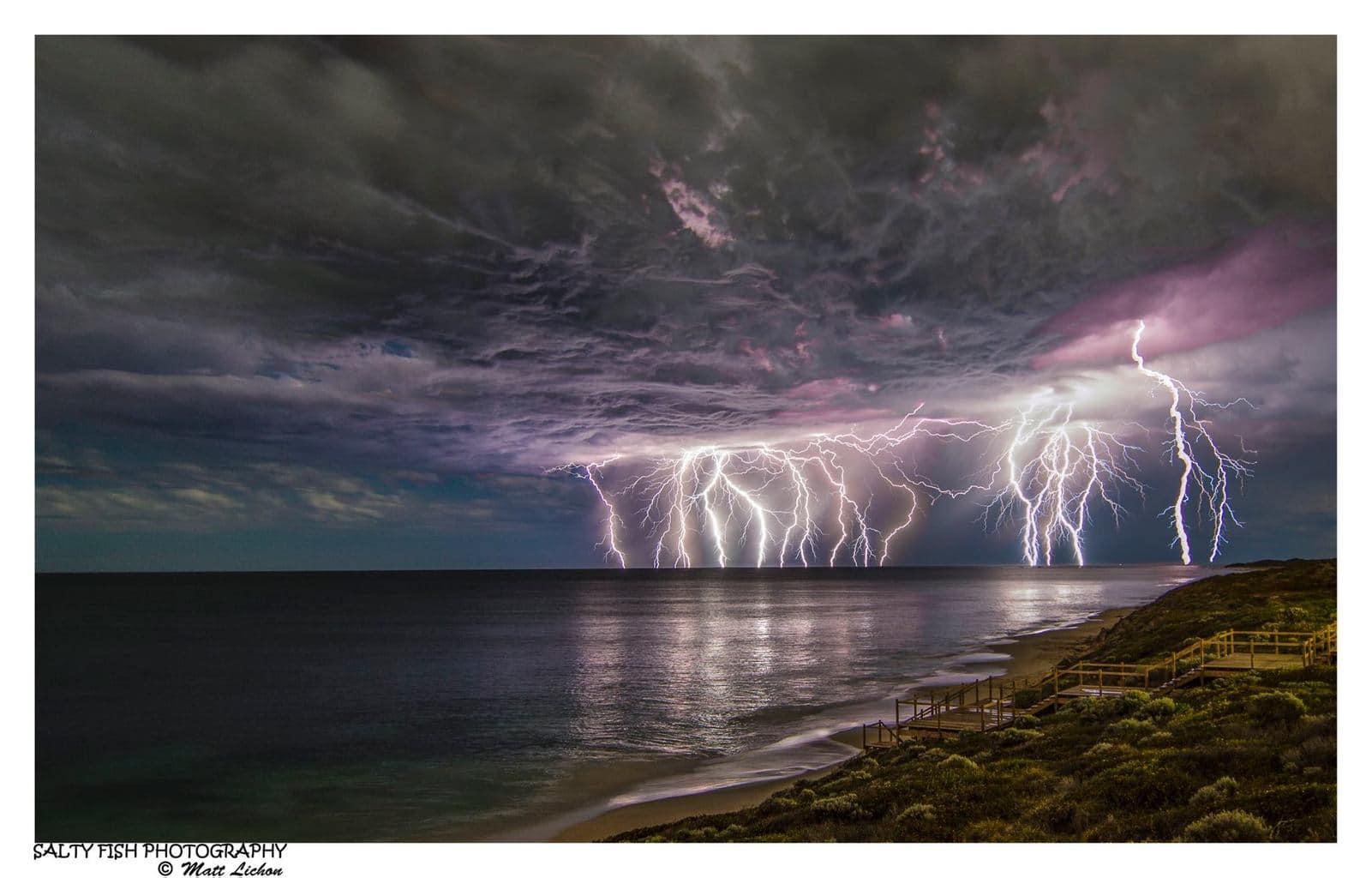 PURPLE PERTH POWER! — in Western Australia, Australia.