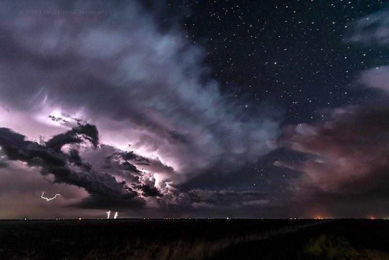 Supercell in Nebraska. May 19th 2014.