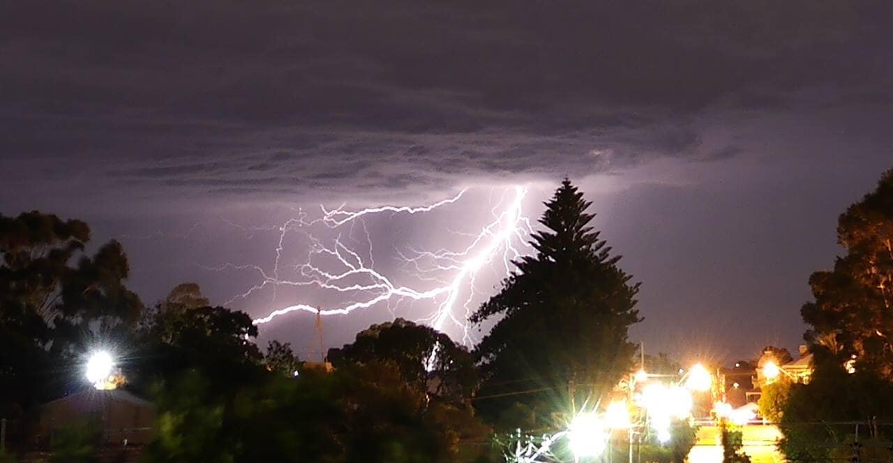 This was the last strike i snapped from the Perth storm