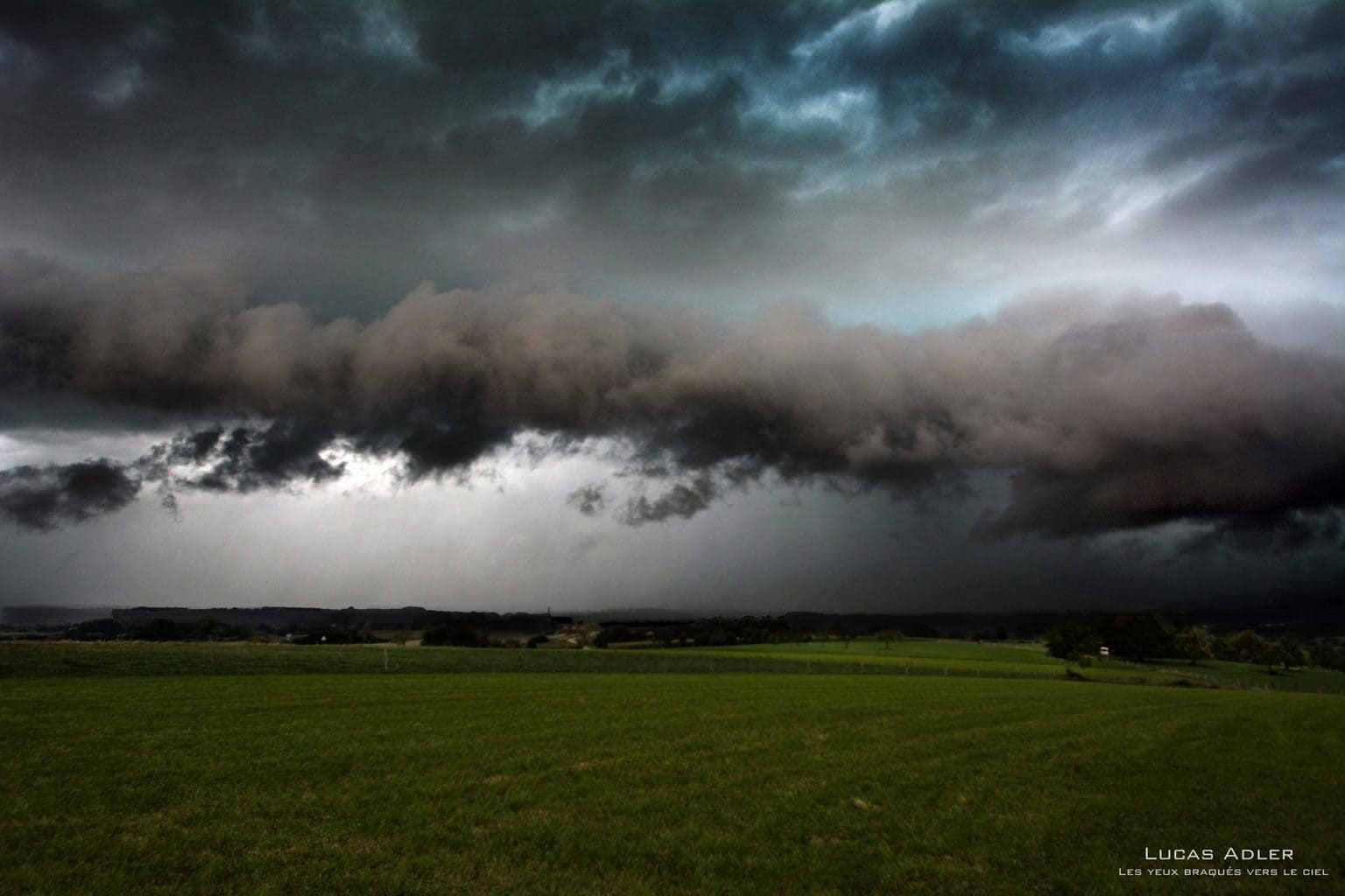A quick photo before escaping a severe gust front in NE France last summer