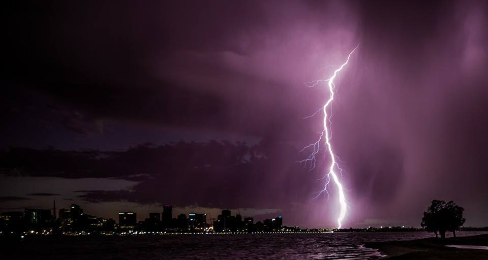 Another from the storm in Perth
