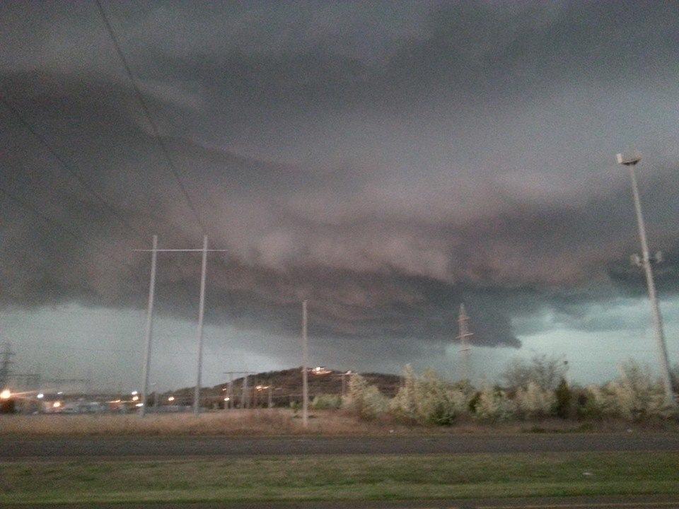 Tulsa Tornado warned march 25th 2015