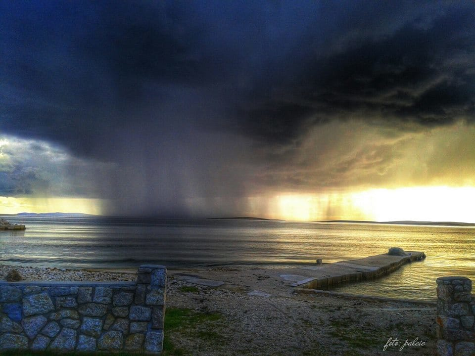 The storm is coming...  Pag, Croatia 30. 5. 2013.