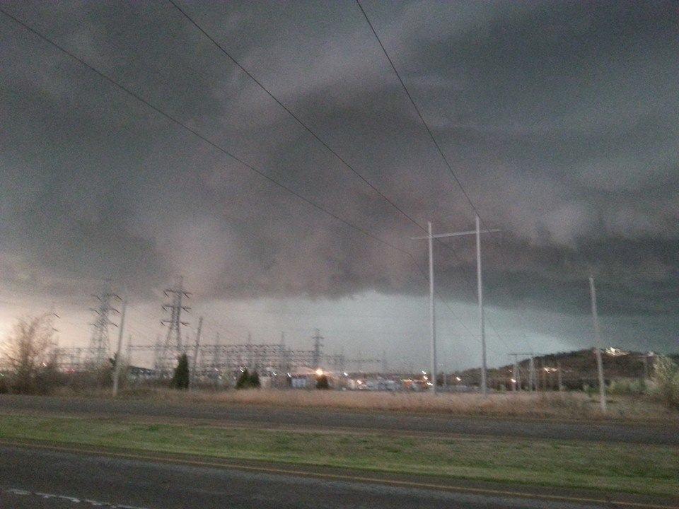 Wednesdays Tulsa tornado warned