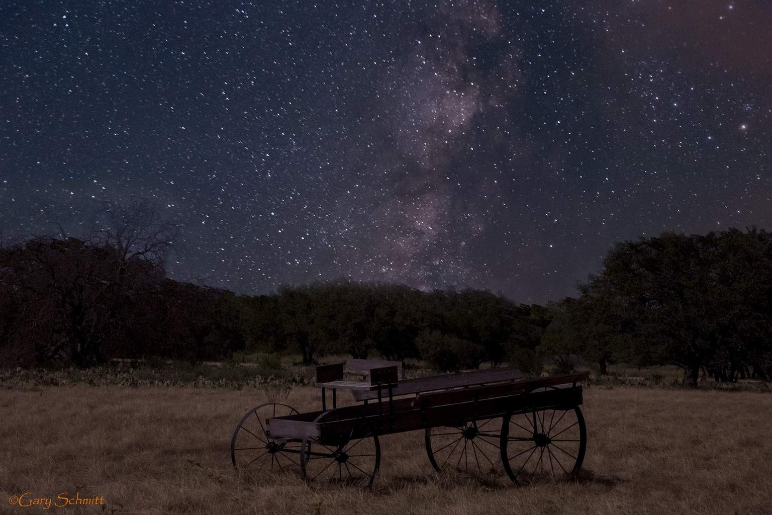 Milky Way shot in Texas last summer.