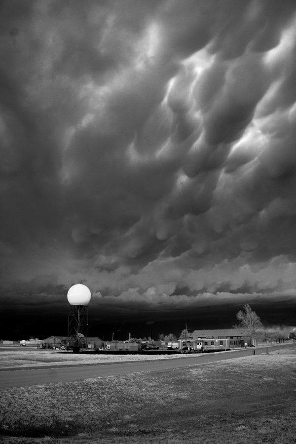 Norman, Oklahoma, March 25th, 2015 Infrared, 820nm..