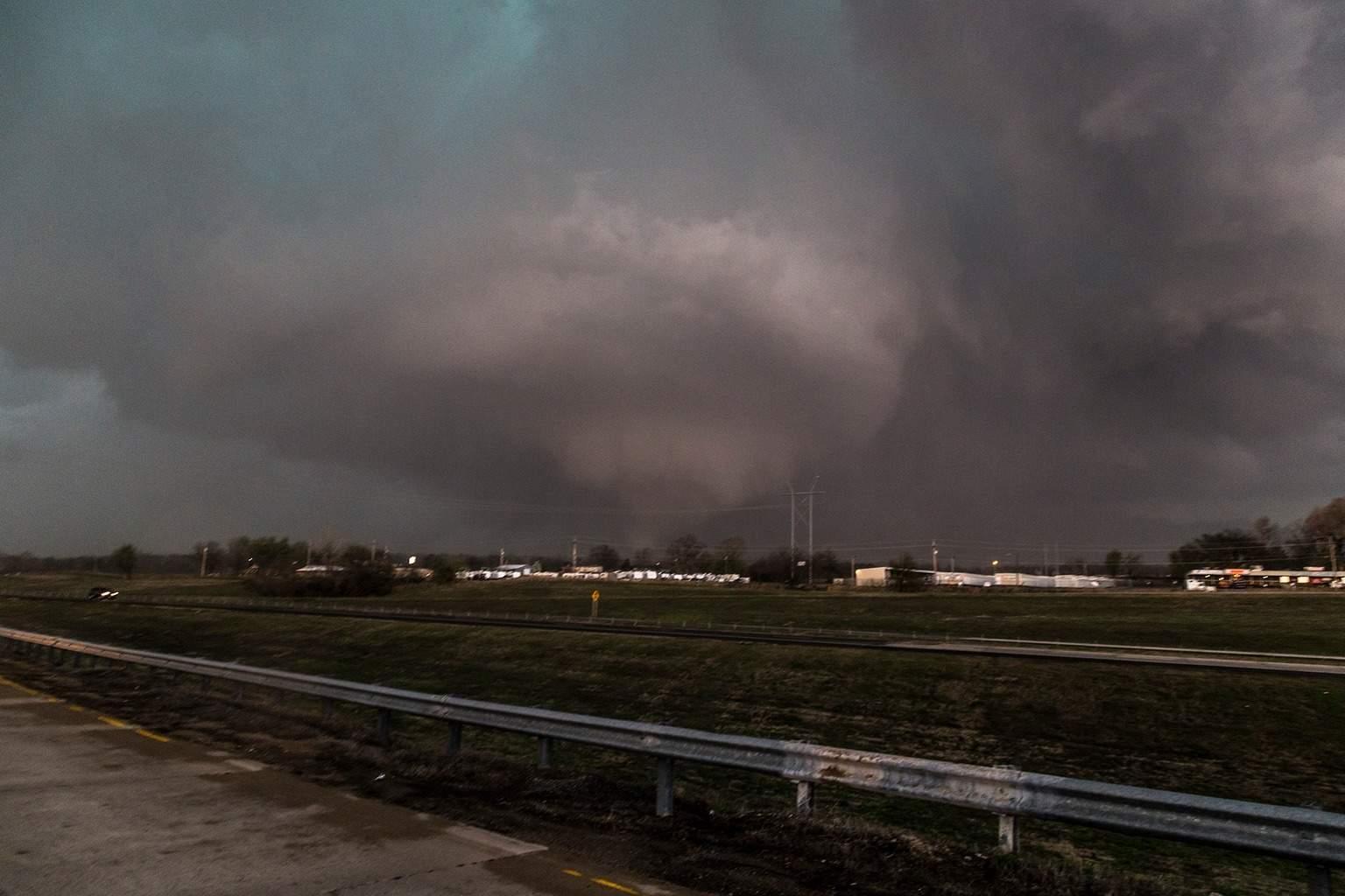 Sand Springs, OK tornado on 3/25/15.