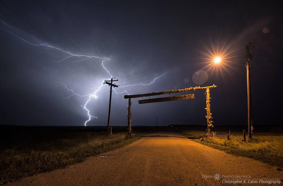 Midnight Lightning, Pawnee Springs Ranch, Nebraska - June 22, 2013