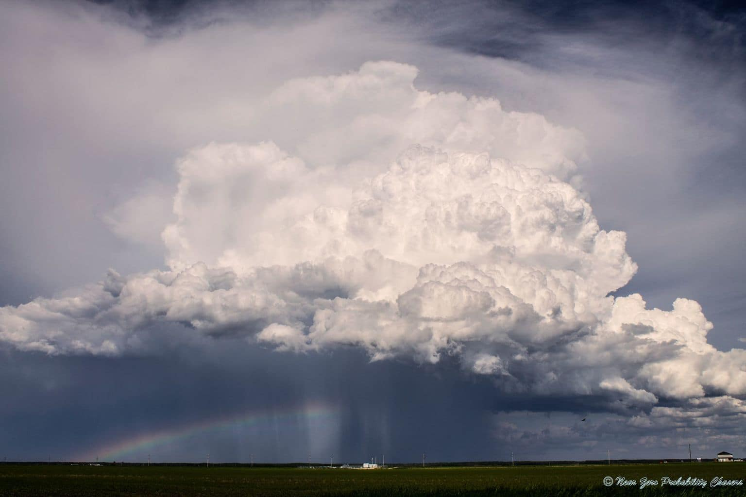 Pic of the day, just a storm & rainbow passing through