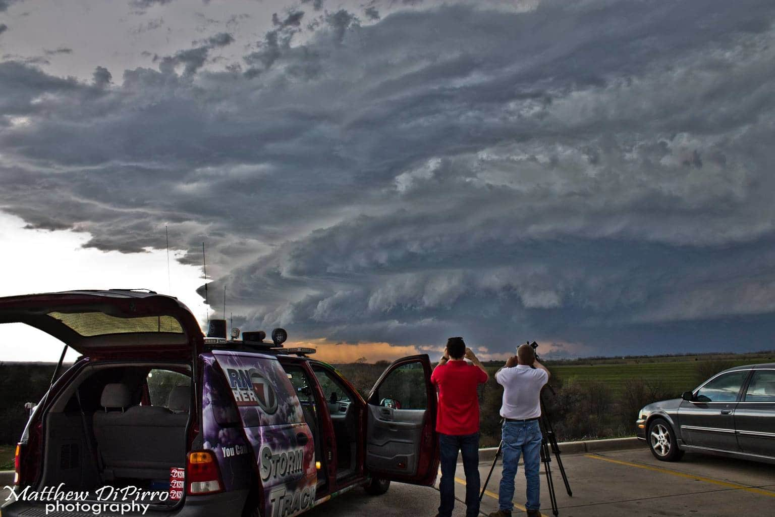 Just north of Anadarko, OK from this past Wednesday, March 25th. No HDR editing here, seriously, the clouds were amazing on this storm. Even my cell phones photos came out great.