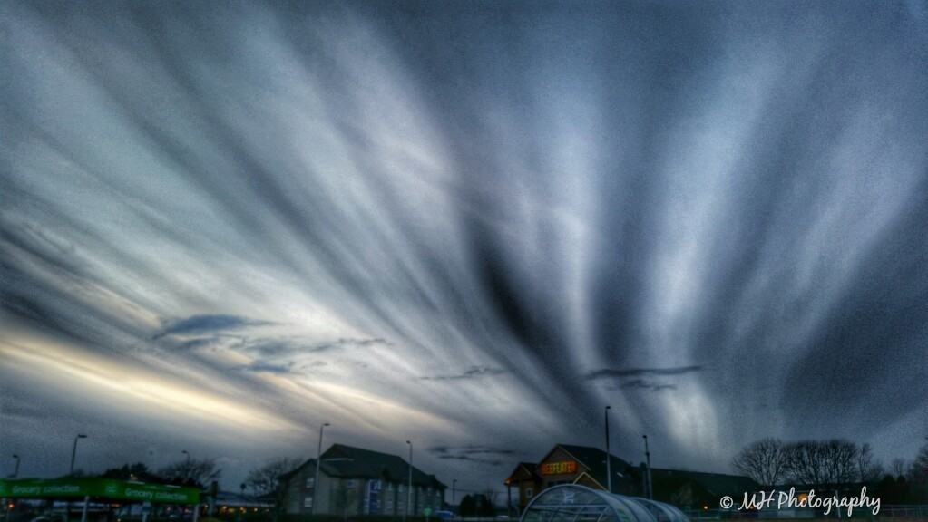 First experience of this cloud formation, over Scotland last week. Can anyone tell me what it's called please?