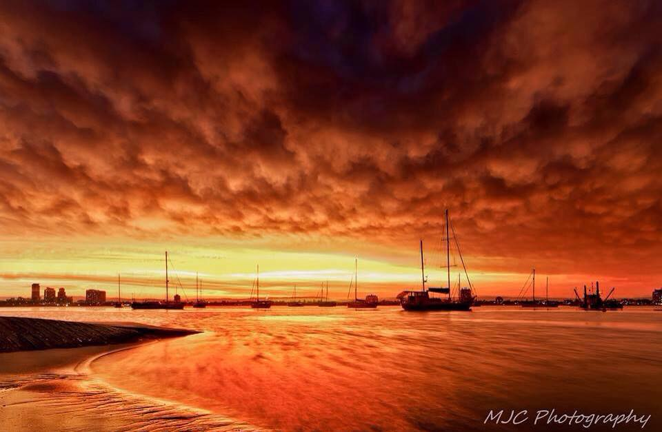 Taken last year on the Gold Coast Aus. Sunset after the storm..