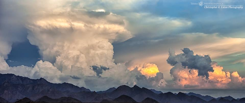 """""""The Mighty Anvil"""", August 16, 2004, Northern Arizona."""