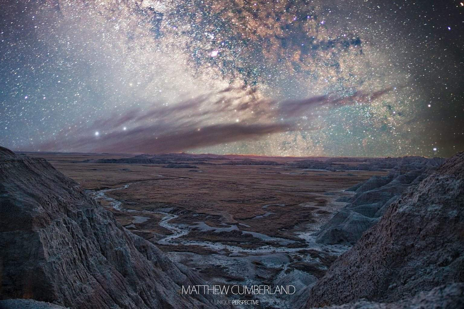 Milky Way rising over the Badlands of South Dakota from my trip out there last week.