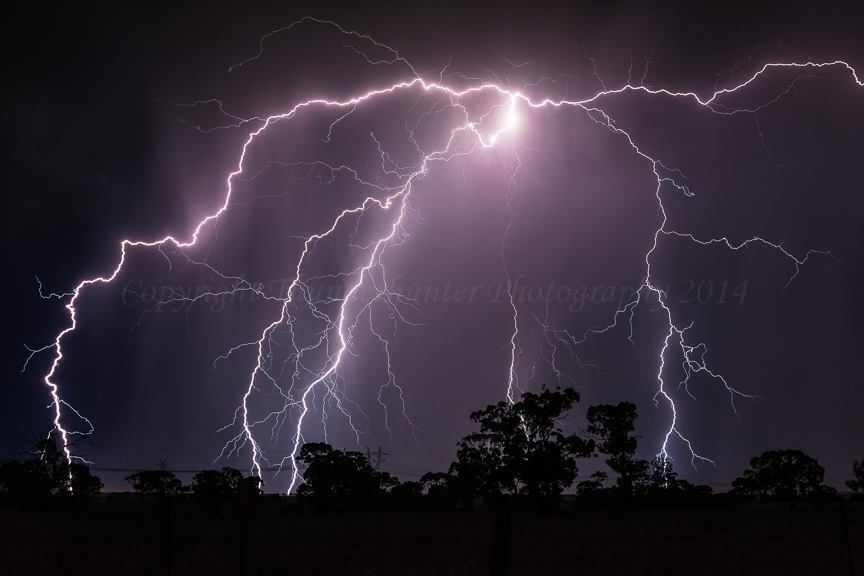 Big powerful spider bolt and close too! Taken west of Melbourne, Australia.