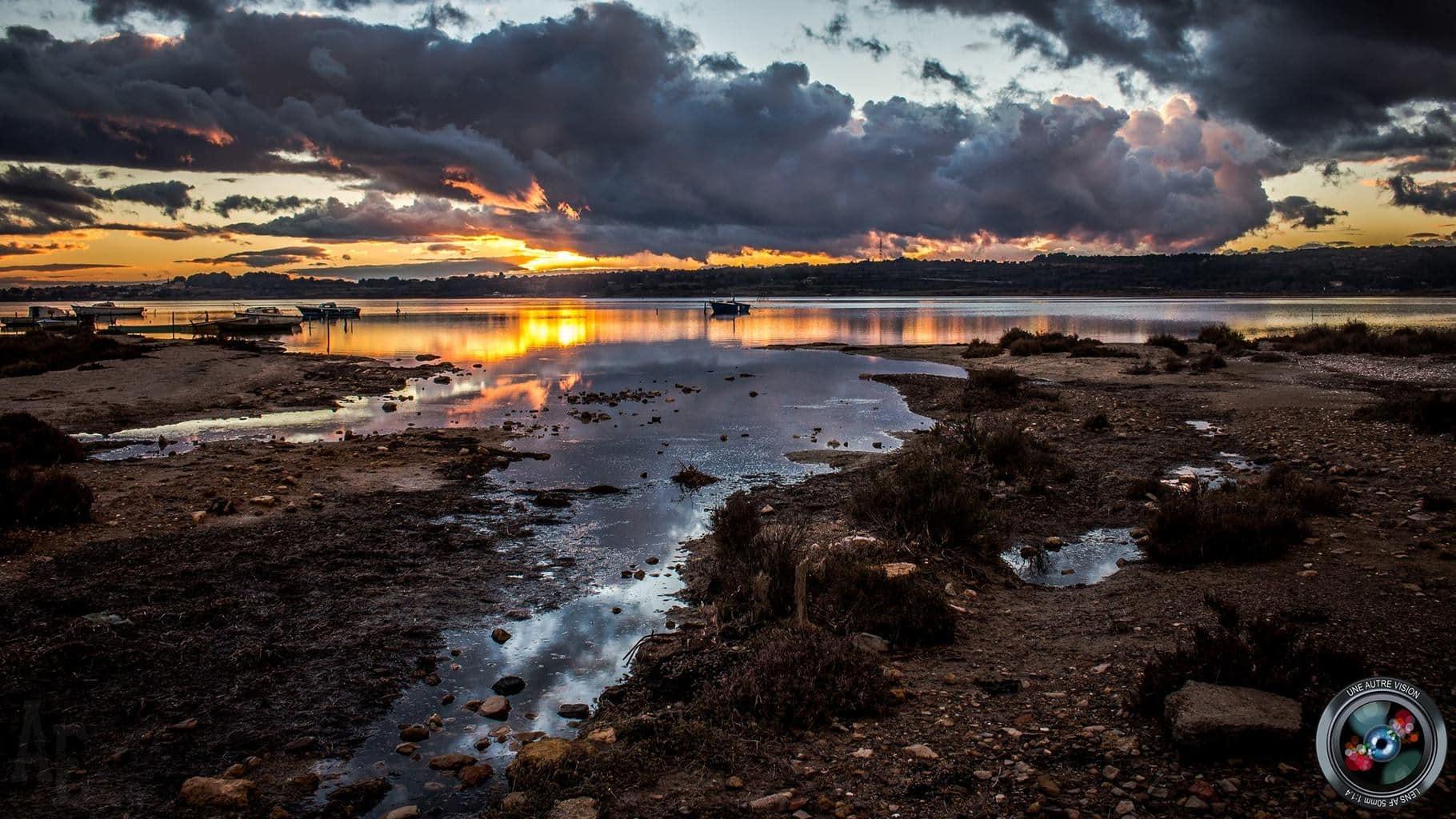 Spectacular sunset | Balaruc le Vieux, France