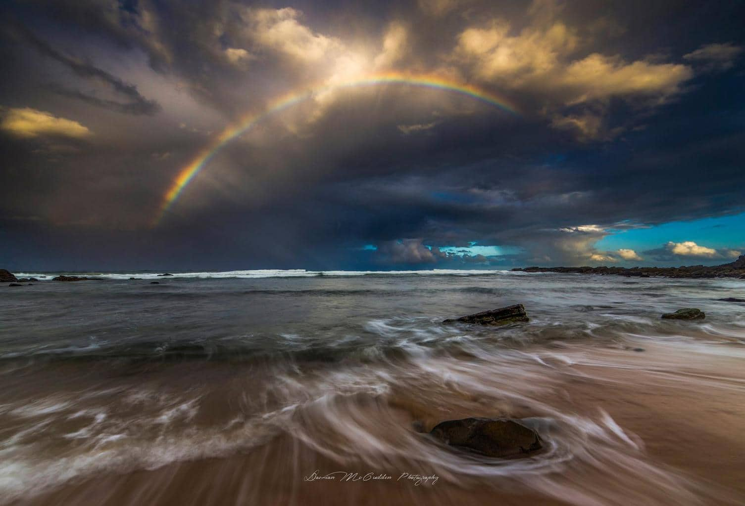 Hey everyone, I took this image of a rainbow after a heavy shower the other afternoon at Coolum, Australia.
