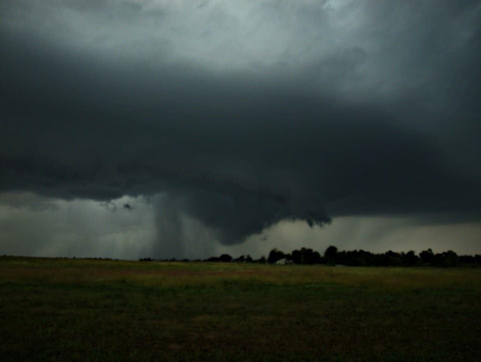Tornado warned storm as it approached Carl junction mo. In jasper county  Taken last spring! 2014
