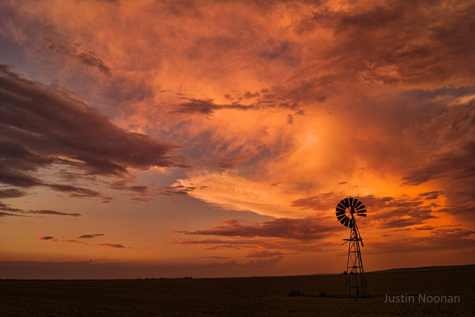 At the end of a bust chase the least mother nature could do was to put on a spectacular sunset! And it did. It sure was the perfect surroundings to watch it unfold too. Taken out on the Darling Downs, QLD, Australia November 29th 2012
