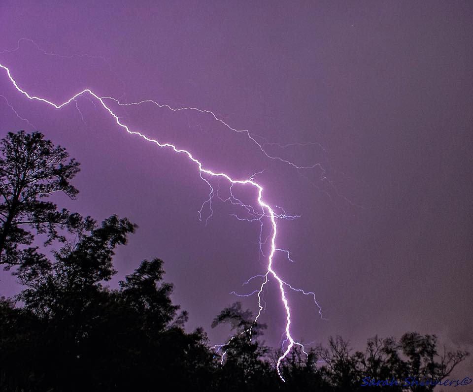 Tired of freezing here in the South, so ready for severe weather season. Mount Pleasant, South Carolina~August 2014
