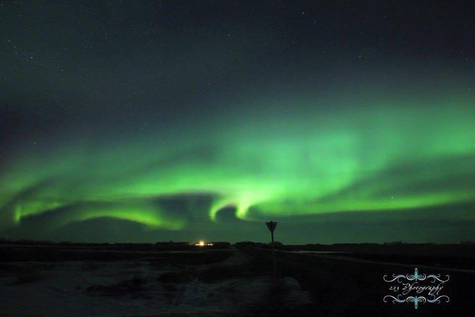 Different kind of storm. Taken March 17 in Churchbridge, Saskatchewan.